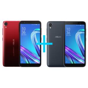 Zenfone Live L2 OctaCore 435 Vermelho + Zenfone Live L2 OctaCore 435 Preto - R$1.299