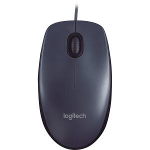 Mouse M90 Preto 1000dpi - Logitech - R$10