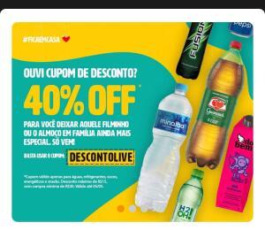 40% off em produtos selecionados no Zé Delivery