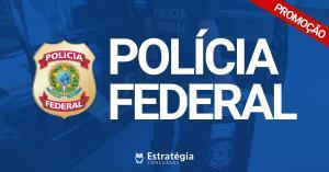 40% off em Pacotes para Polícia Federal - Estratégia Concursos