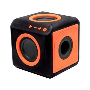 Caixa de som Bluetooth PUNCH 15W RMS 360° Surround - audioCube Portátil - ELG