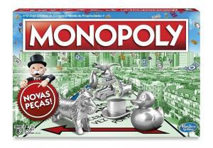 [Prime] Jogo de tabuleiro Monopoly Hasbro R$77