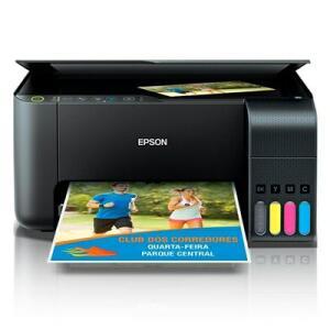 Multifuncional Epson EcoTank L3150 com Tanque de Tinta - Impressora, Copiadora e Scanner | R$ 1.040