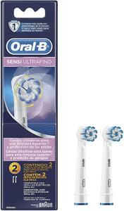 [PRIME] Refil Para Escova Elétrica Oral-B Sensi Ultrafino - 2 Unidades
