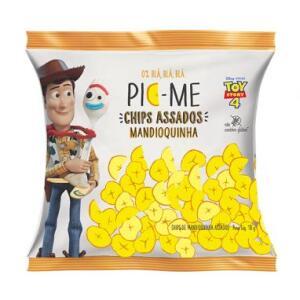 Chips Assado Disney - Toy Story Mandioquinha || Pic-Me R$ 2