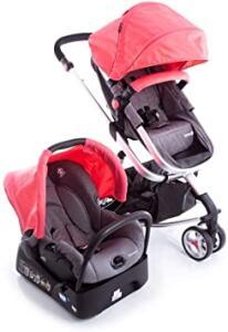Carrinho Travel System Mobi Safety1st - Pink Joy, Safety 1st, Pink Joy R$ 1299