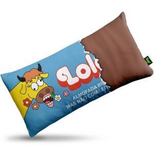 Almofada Retrô Chocolate Lolol Ed. Especial Naked | R$25