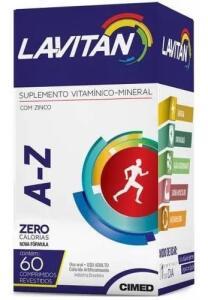 Kit 5 Lavitan A - Z 60 comprimidos