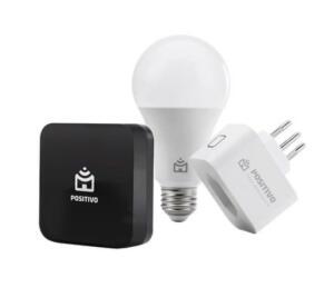 Kit Casa Conectada (Smart Lampada + Smart Plug + Controle IR Universal)   R$256