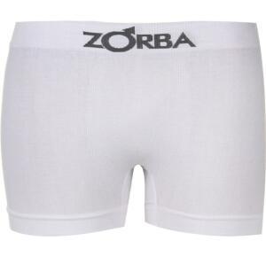Cueca Boxer Zorba Sem Costura Branca