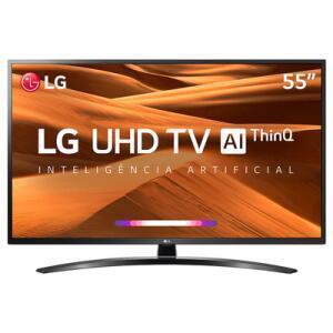 "Smart TV LG 55"" 55UM7470 UHD 4K + Controle Smart Magic | R$2.249"