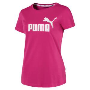 Camiseta Essentials Feminina | Roxo | PUMA