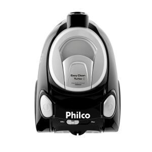 Aspirador de Pó Philco Easy Clean Turbo PR 1800W - Preto | R$ 249