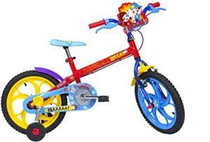[Prime] Bicicleta Caloi Luccas Neto Aro 16 R$ 364