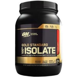 Isolate Gold Standard 100% 720g - Optimum Nutrition   R$112