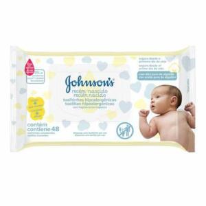 Lenço Umedecido Johnson's Recém-Nascido - R$9