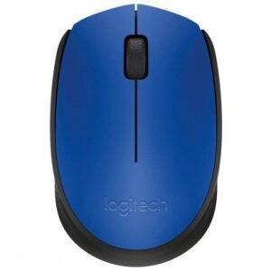 Mouse Óptico Logitech Wireless sem Fio M170 Azul | R$34