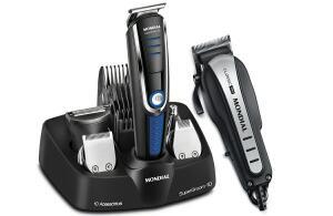 Conjunto Mondial Especial Barber KT 84 – Preto   R$ 117