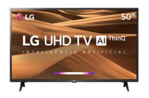 "Smart TV LED 50"" LG 50UM7360PSA | R$ 1.799"