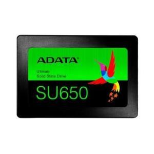 SSD Adata SU650, 480GB, SATA, Leitura 520MB/s, Gravação 450MB/s