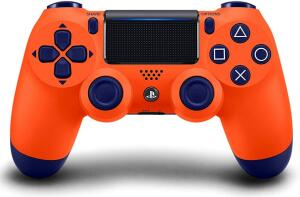 [Prime] Controle Dualshock 4 - Laranja Sunset - Exclusivo Amazon