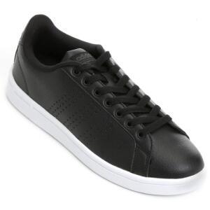 [TAM 38, 39] Tênis Adidas Cf Advantage Clean Masculino - Preto