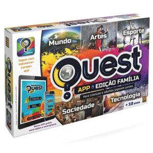 Jogo Quest Edição Família APP Grow | R$77