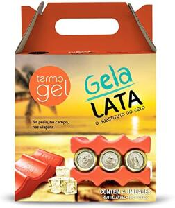 Kit Gela - Lata, 4 unidades R$ 29