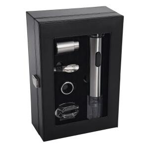 Kit para Vinho Oster Inspire Inox 5 peças | R$161