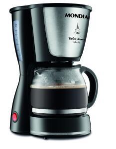 Cafeteira Mondial Dolce Arome Inox 18x 220V - R$59