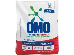 Sabão em pó Omo Lavagem Perfeita Concentrado 5,6kg | R$35