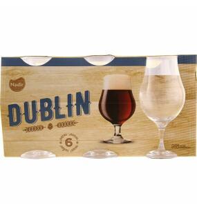 Conjunto de 6 taças Dublin 400ml Nadir