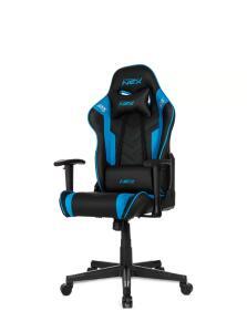 Cadeira Gamer DXRacer Nex preta/azul OK134/NB