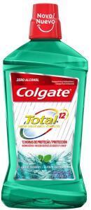 [PRIME] Enxaguante Bucal Colgate Total 12 Professional Hálito Saudável 1000ml | R$19