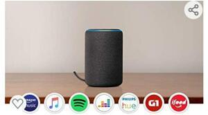 Echo (3ª geração) - Smart Speaker com Alexa