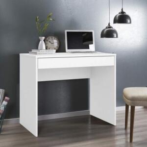 Escrivaninha 1 Gaveta Facility Demobile Branco - Demóbile R$ 100