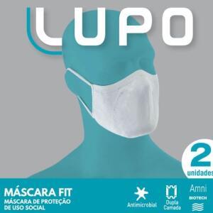 Máscara Fit - Kit com 2 Unidades