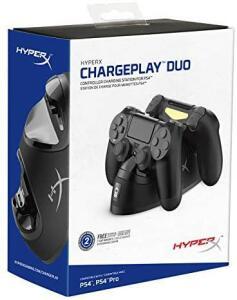 HyperX ChargePlay Duo - Carregador Duplo para Controle de PS4, HyperX - R$129
