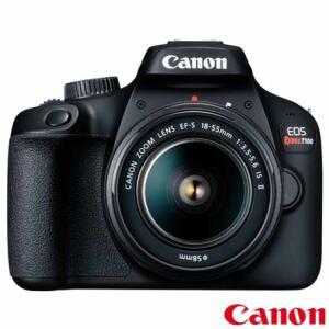 Câmera Digital Canon EOS Rebel T100 DSLR