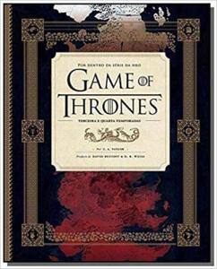 Game of Thrones. Por Dentro da Série da HBO. Terceira e Quarta Temporada (Português) Capa dura