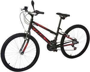 Bicicleta Lazer Caloi Max Aro 24 - 21 Velocidades - Preto | R$500