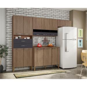 Cozinha Bartira Safira Plus com 11 Portas e 2 Gavetas R$ 599