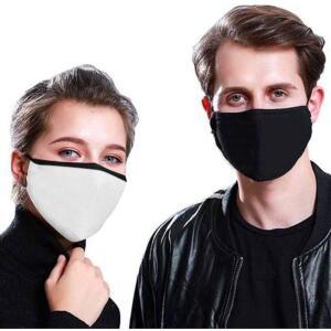 Kit com 09 Máscaras de Tecido Anti-Vírus Melhor Proteção Unissex Reutilizável R$10
