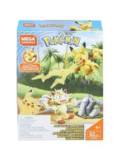 [PRIME] Mega Construx Mattel Pokemon 82 peças   R$ 30