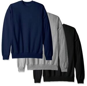 Kit três blusas de moletom flanelada (Feminino)