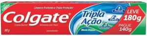 [PRIME] Creme dental Colgate 180g R$4