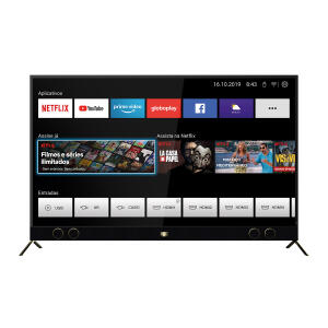 "Smart TV LED 55"" Philco PTV55G60SN 4K + Soundbar Integrado | R$2.299"