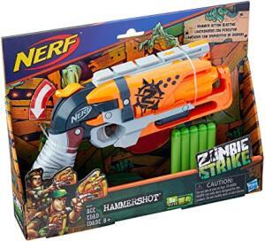 Lançador Nerf Zombie Strike - Hammershot - Hasbro R$ 70
