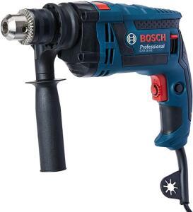 Furadeira de Impacto GSB 16 RE 127V, Bosch 06012281D4-000, Azul   R$344