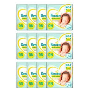 Fralda Pampers Premium Care RN - 240 Unidades | R$162